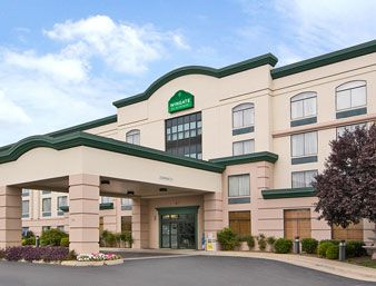 The Wingate Hotel In Winchester Virginia Is Conveniently Located Right Off Of We Stayed There For One Night A Standard Room May 2017 With Our