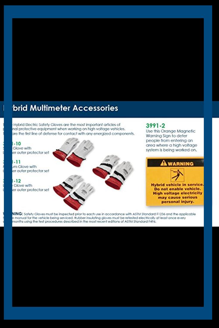 OTC 399112 Large Hybrid Electric Safety Gloves Safety