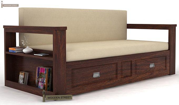 superb wooden diwan with storage 15