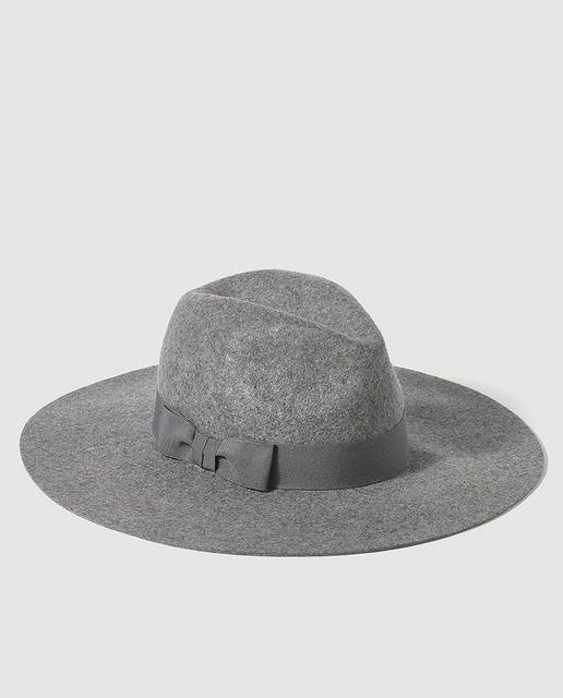 Sombrero tipo fedora con cinta  33cbaa50841