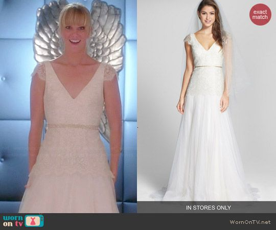 Brittany S Wedding Dress On Glee Glee Fashion Dresses Wedding Dresses