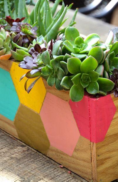 How-To: Hexagon Planter Box