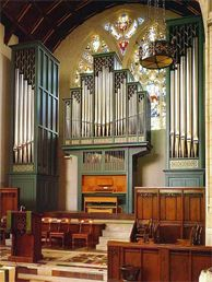 1959 Beckerath pipe organ at Mountainside United Church, Montreal, Quebec, Canada