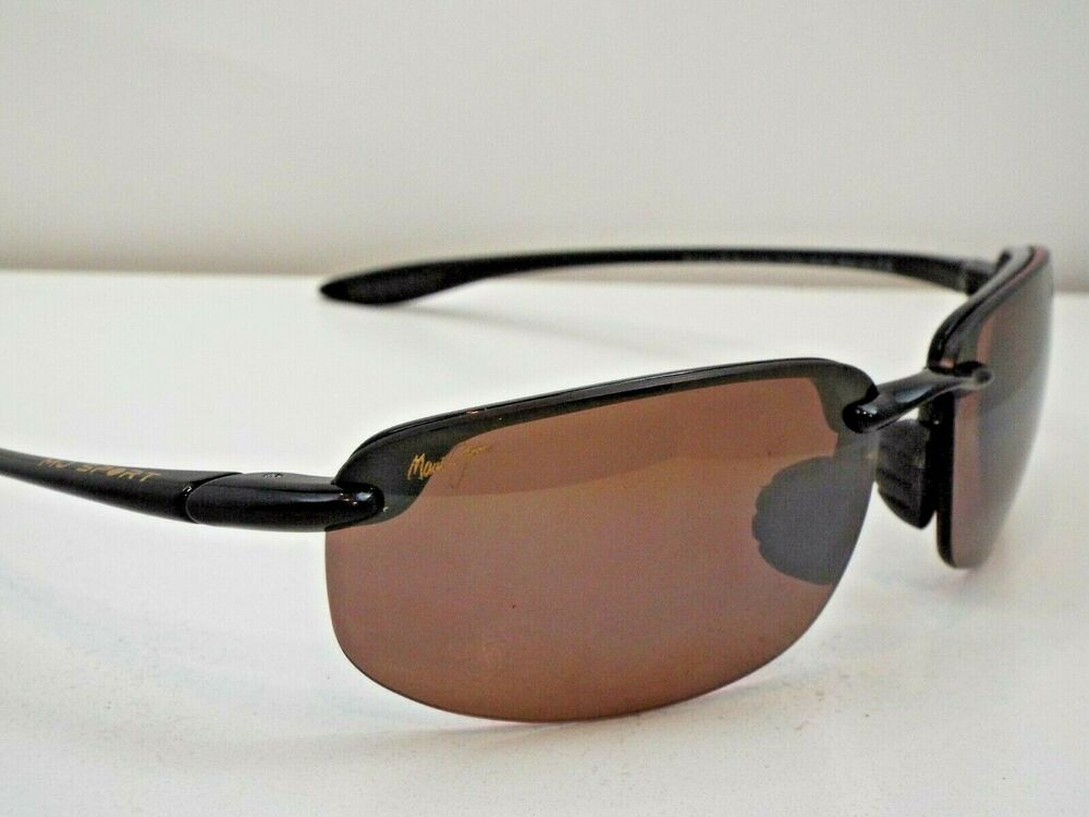 7907f1d9a1 eBay Ad) Authentic MAUI JIM 407-02 Ho'okipa Black HCL Bronze ...