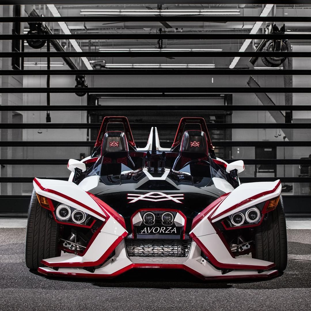 Polaris Slingshot Quad Conversion Kit From Bullet Speed And Design Polaris Slingshot Slingshot Car Cool Cars