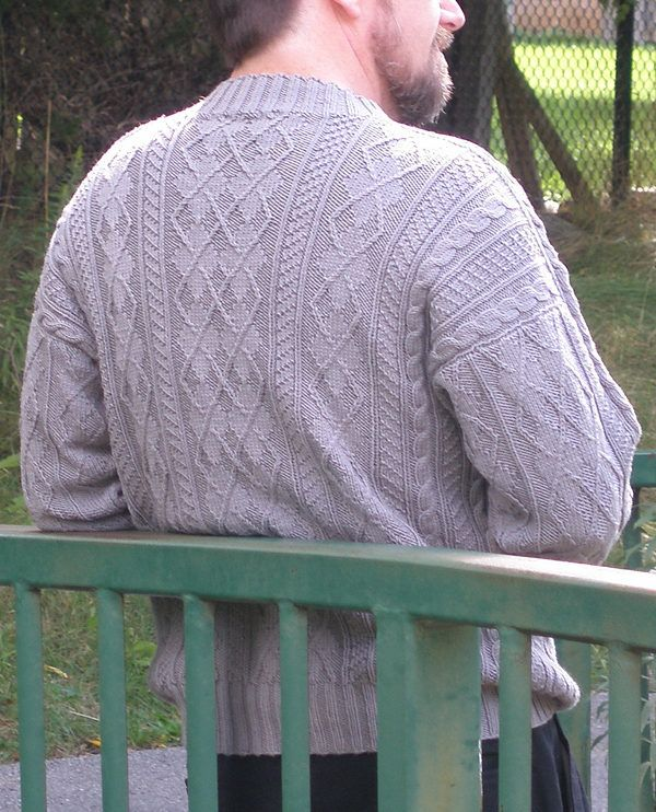 Free Knitting Pattern For Arguyle Pullover Sweater Long Sleeved