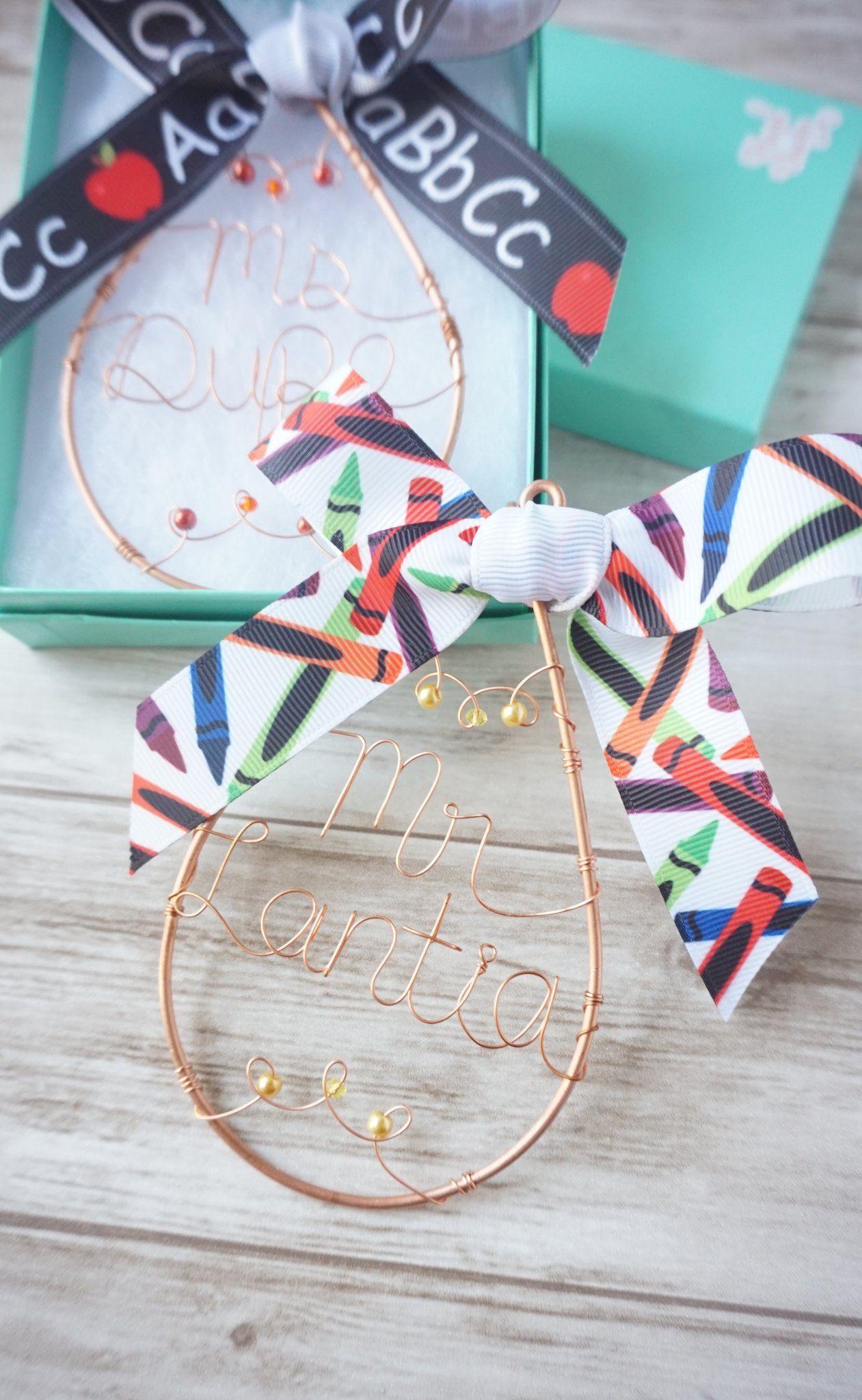 Teacher Ornament Gift Set