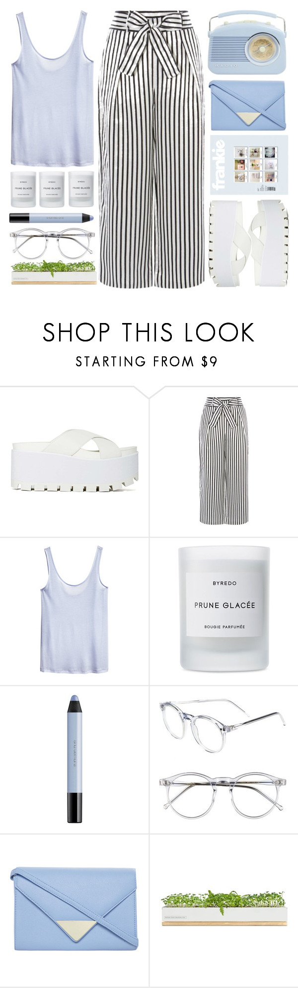 """Blues"" by chantellehofland ❤ liked on Polyvore featuring Y.R.U., Karen Millen, H&M, Byredo, shu uemura, Wildfox, Dorothy Perkins and Bambeco"