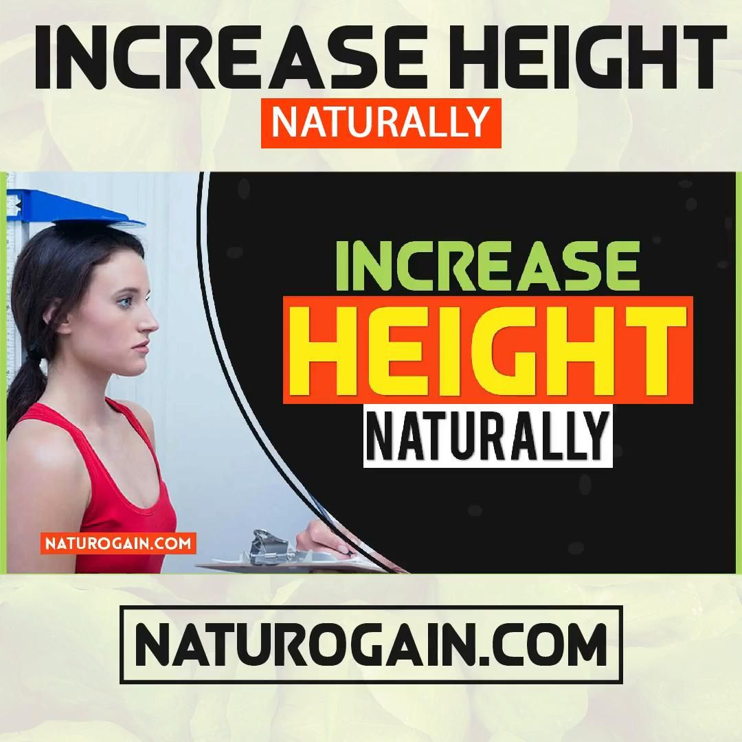 How to Increase Height Before & After 18 Years of Age Naturally At Home