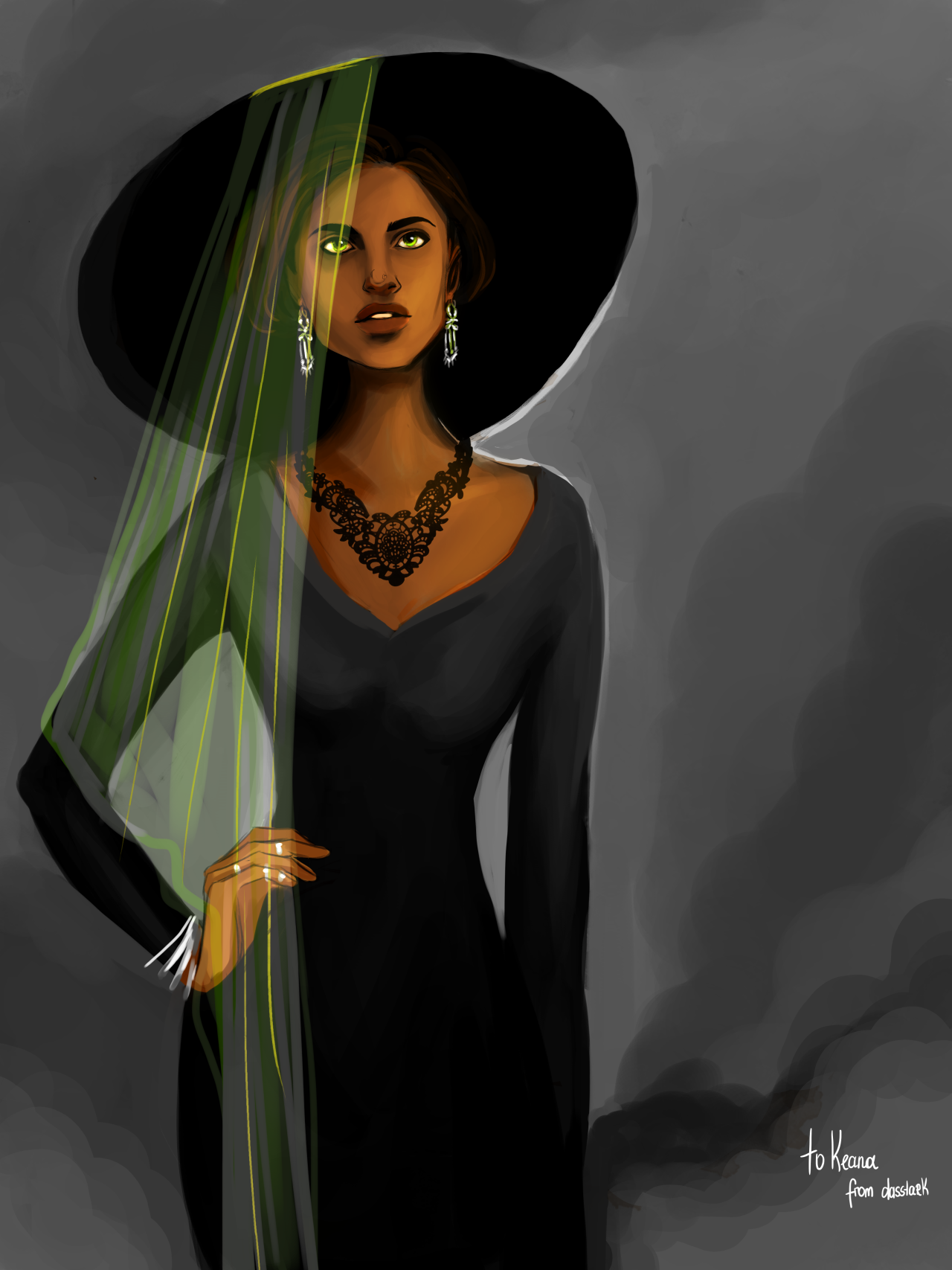 Thosebizzareserpents Hp Commision From Dasstark Slytherin Student Tracey Davis She Is More Than What I Imagined Oh My Slytherin Guys Disney Princess