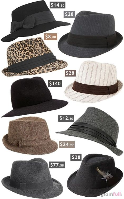 you can NEVER have too many fedoras!!