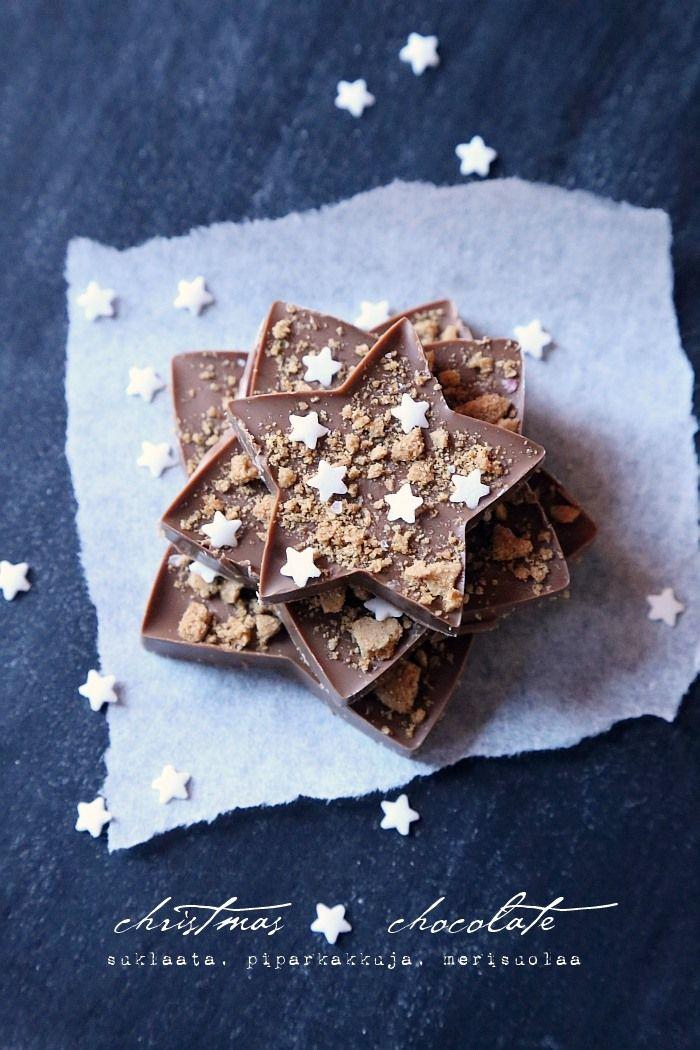 joulusuklaa / christmas chocolate | from my blog | Pinterest ...