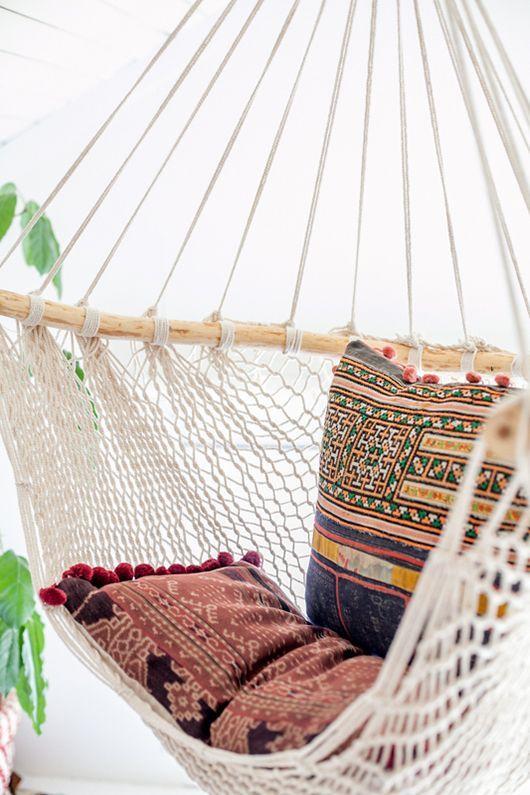 stylische hängematte für zuhause | Einrichtungsideen ...