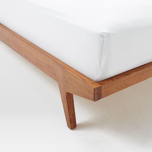 Modern Bed - Linen Weave Camas y Madera - camas modernas