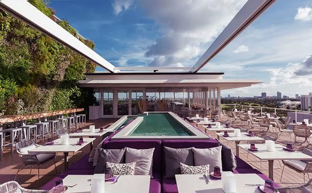 NYE at Juvia in Miami - seven-course champagne menu!