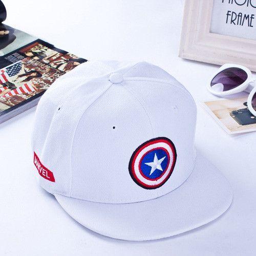 captain america civil war baseball cap new brand embroidery superhero flat hat for men women summer casual winter soldier red blue 39t