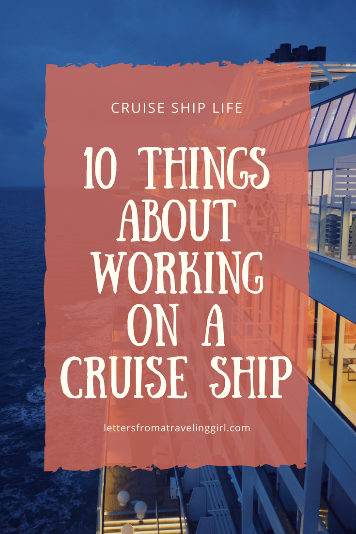 Do you have questions for someone working on a cruise ship? In this