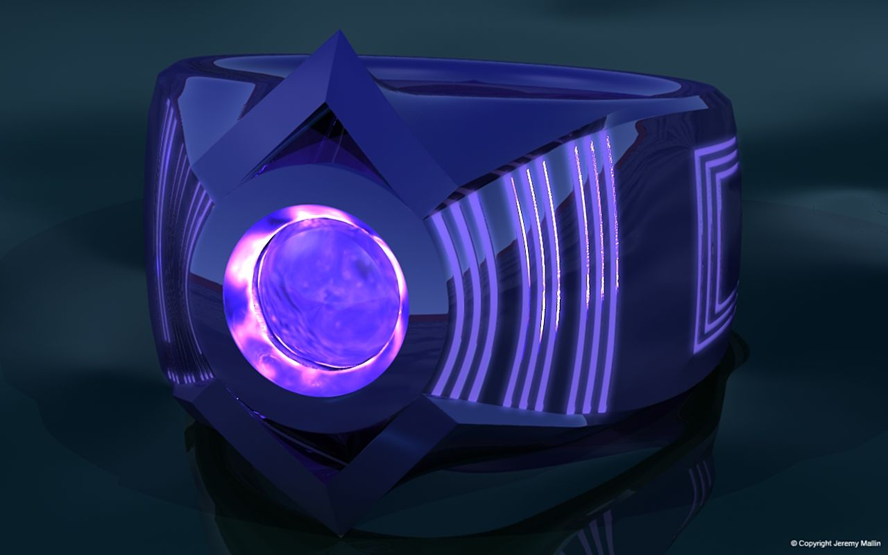 Indigo Tribe Power Ring By Jeremymallin On Deviantart Lantern Rings Power Ring Blue Lantern