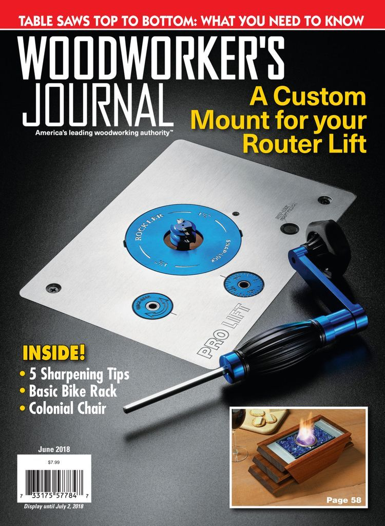 Woodworker S Journal Back Issue June 2018 Digital Amazon Deals Shopping Amazon Deals Woodworking