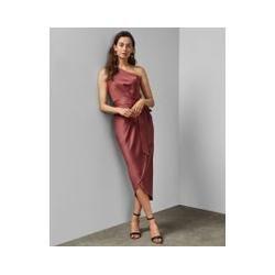 Photo of Asymmetrisk midi-kjole fra skulder Ted Baker