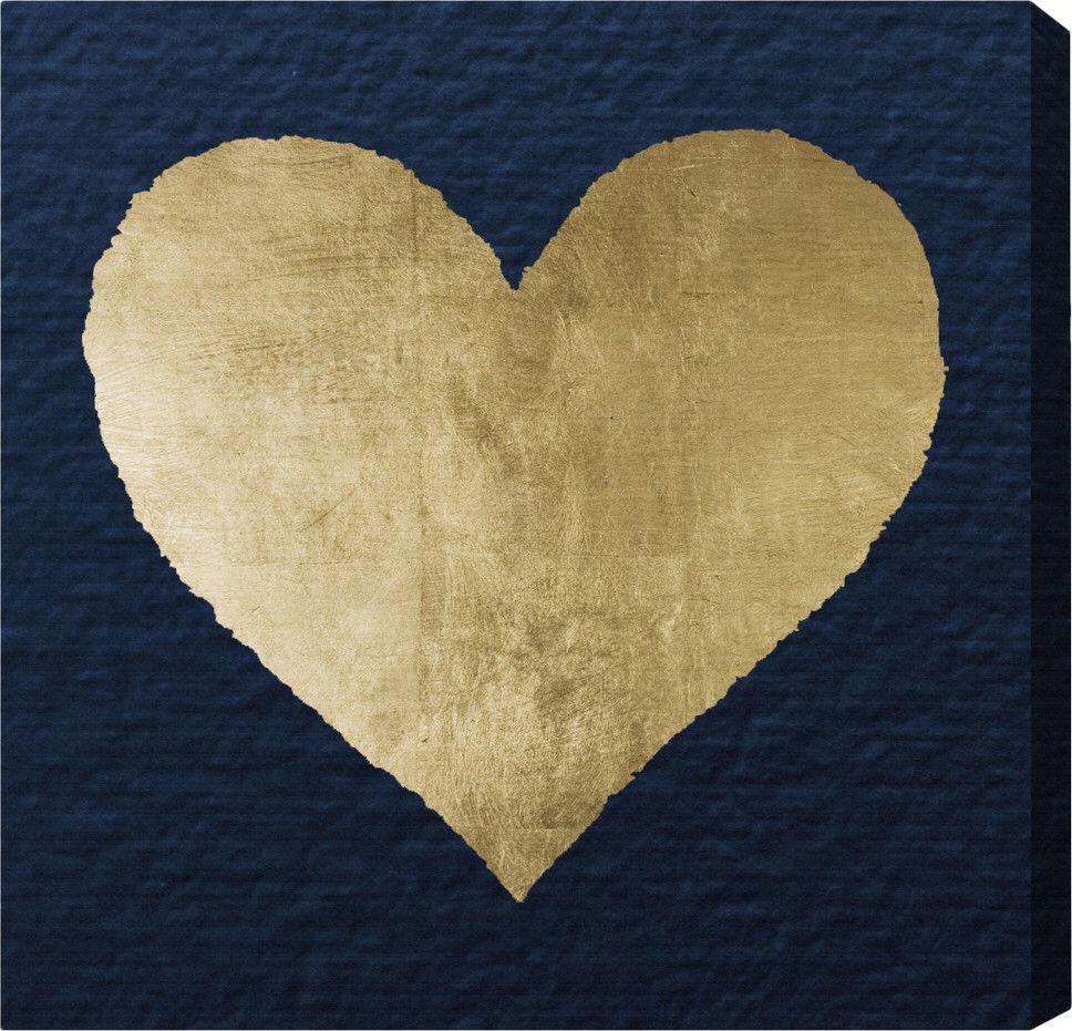 Ever After Blue Canvas Print, Oliver Gal Blue canvas art
