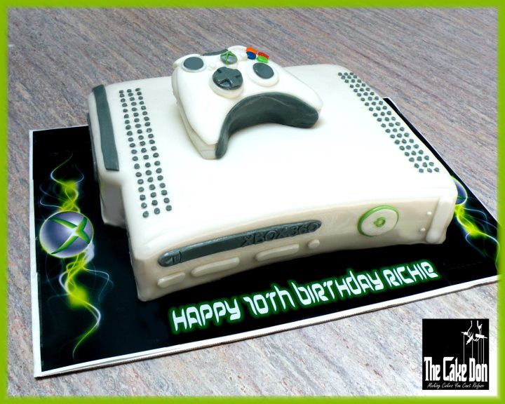 Xbox 360 cake Cake decorating ideas Pinterest Xbox ...