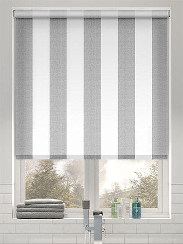 Choices Amelie Grey Roller Blind From Blinds 2go