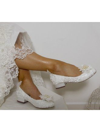 Perfect Shoes Fern Vintage Inspired Low Heel Ivory Sold Wedding Shoes Heels Bridal Shoes Flats Bridal Shoes