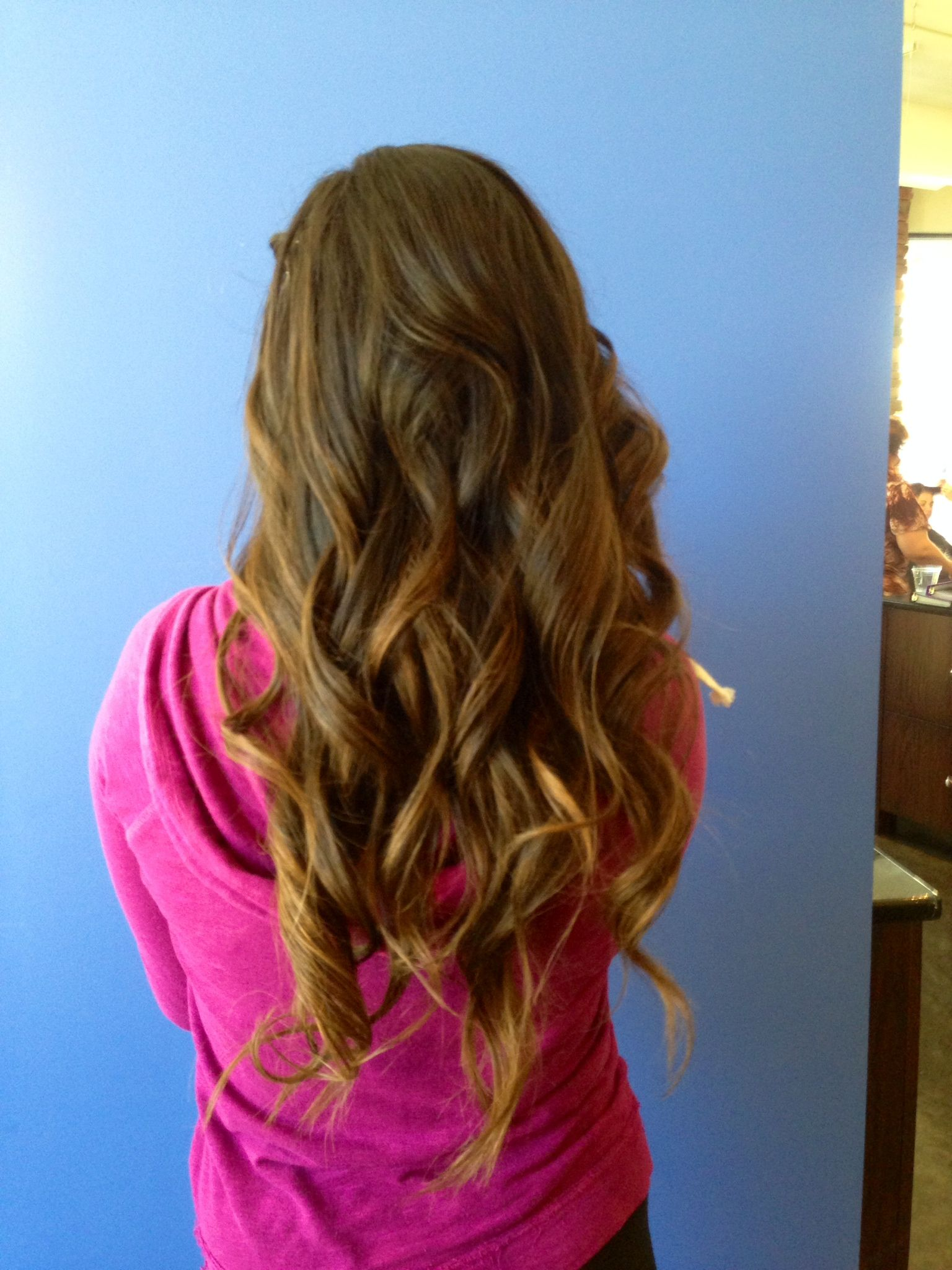 Home ing prom hairstyle Loose curls Hair Pinterest