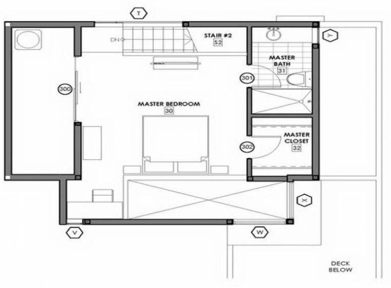 Diseno de dormitorio matrimonial con vestidor y bano for Diseno de una habitacion con bano