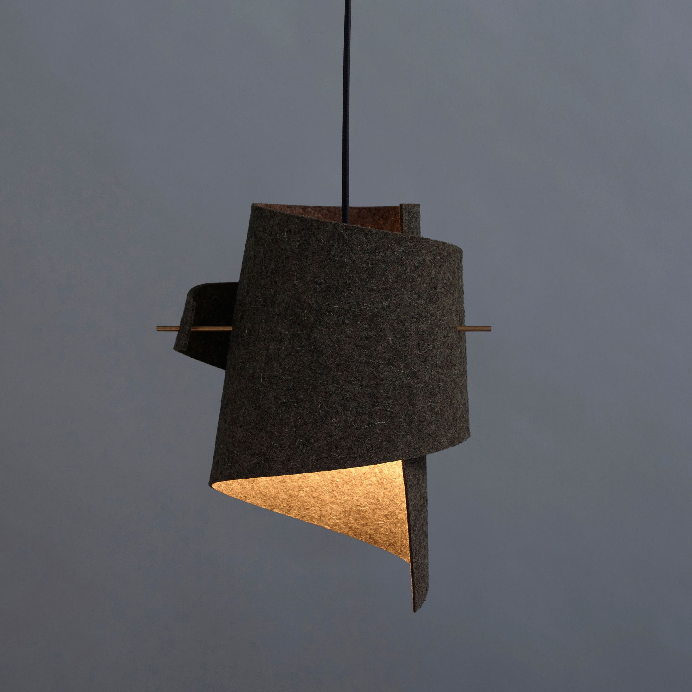 handmade ml01 lamp wool felt by moijn lampen pinterest. Black Bedroom Furniture Sets. Home Design Ideas