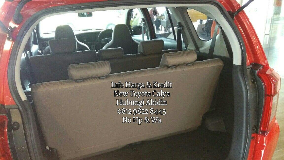 Interior Dalam Bagasi Mobil Toyota Calya Toyota Mobil Baru Mobil