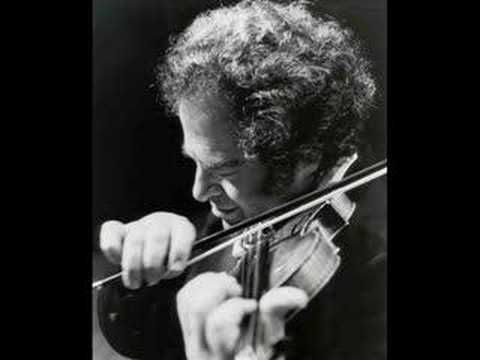 Itzhak Perlman plays Sarasate / Zigeunerweisen