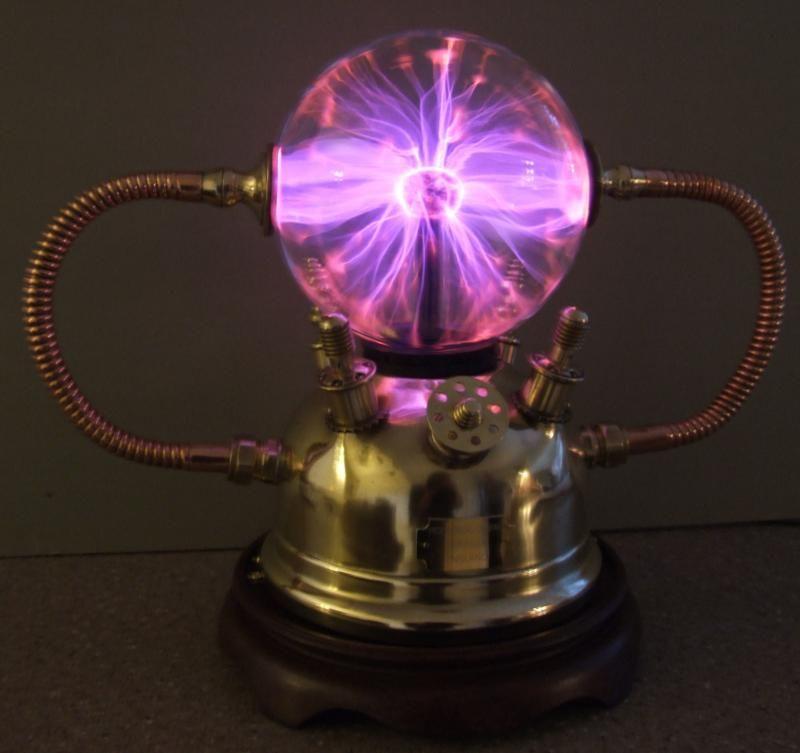 Steampunk Lamp Plasma Lamp