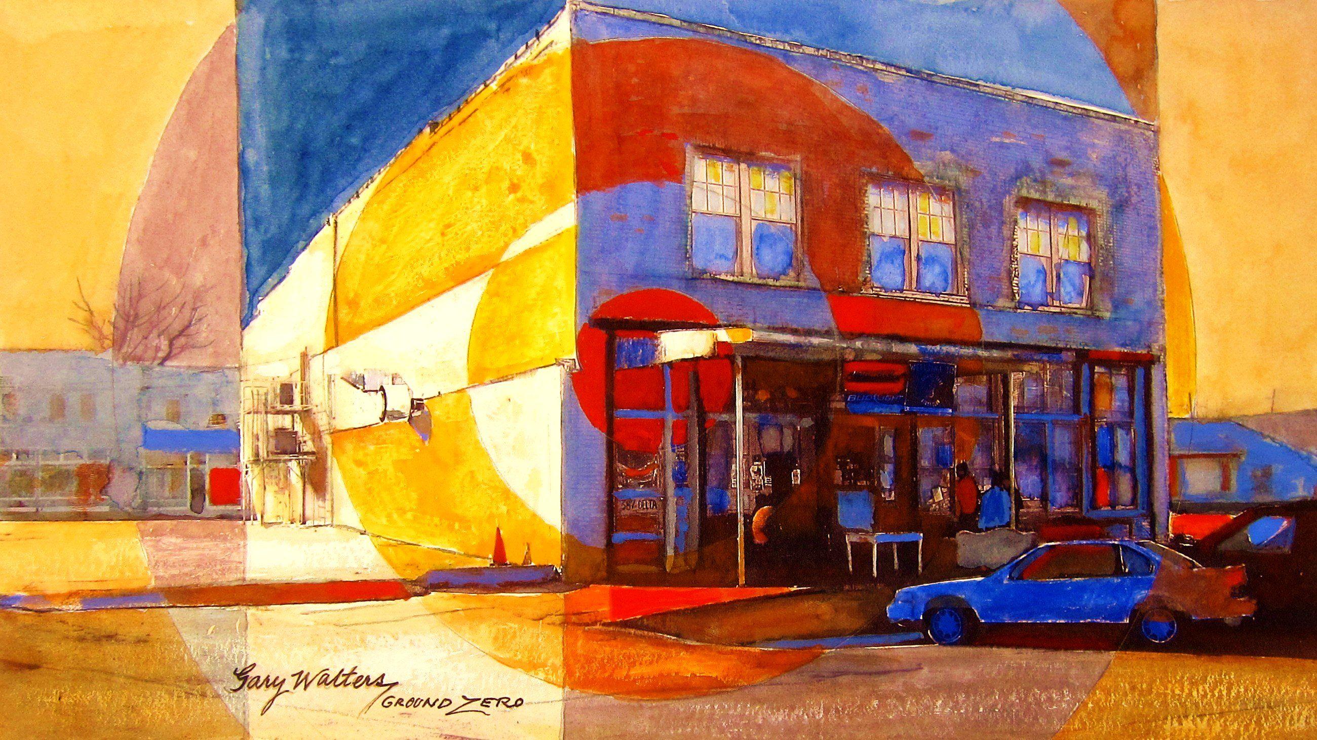Ground ZERO BLUES CLUB - ------------------- Gary Walters