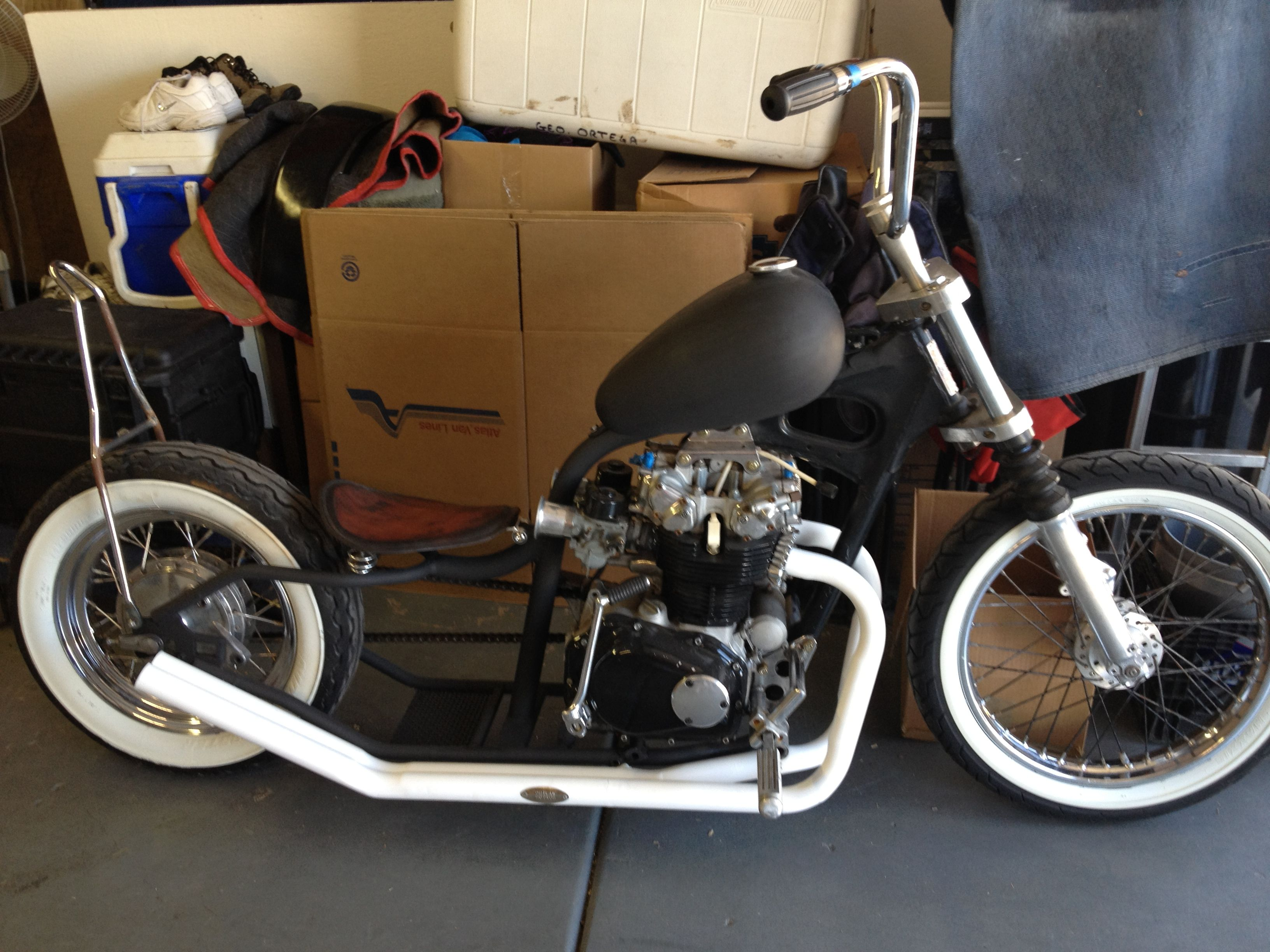 how to build a bobber motorcycle