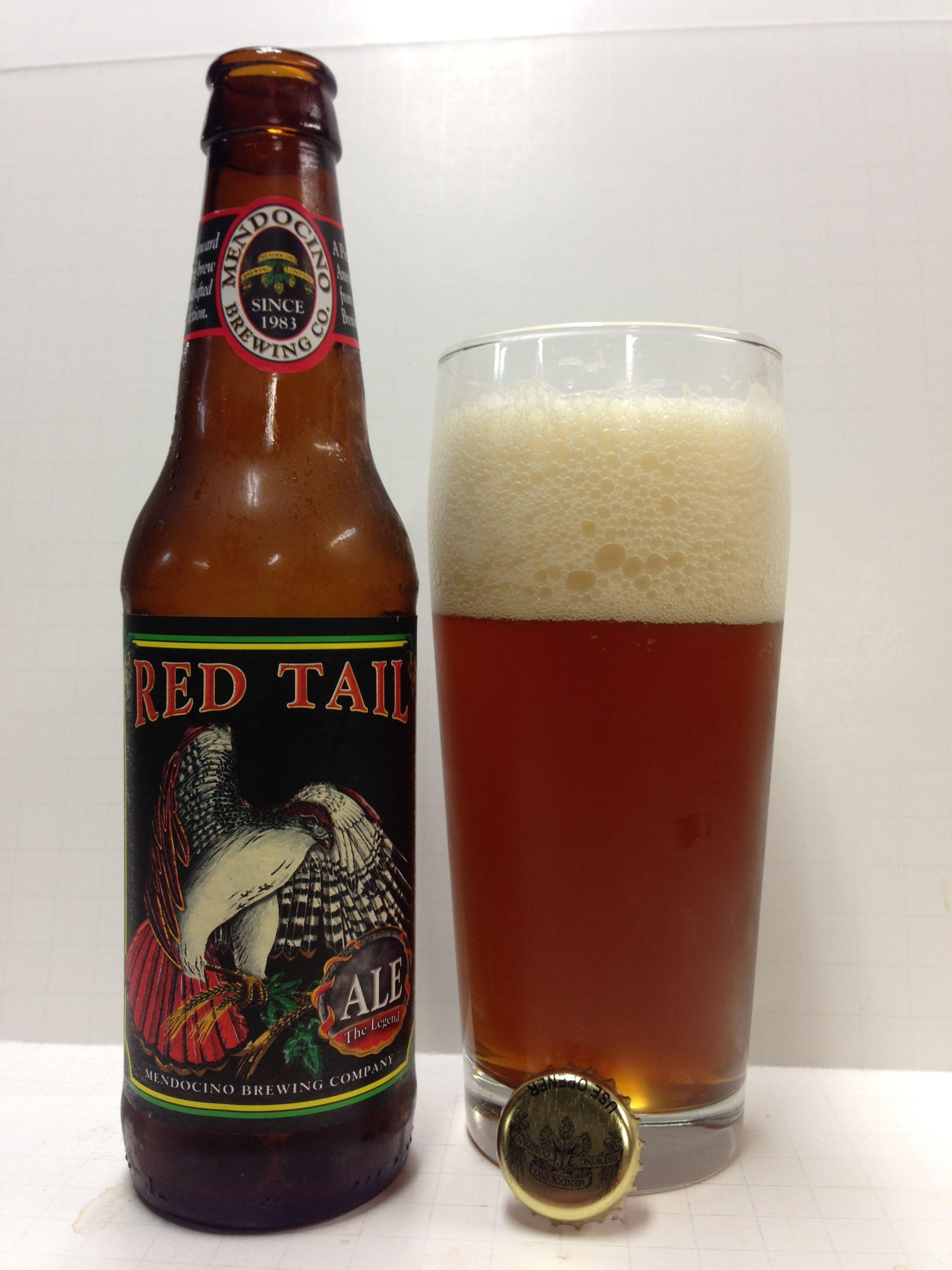 Mendocino Red Tail Wine Liquor Craft Beer Malt Beer