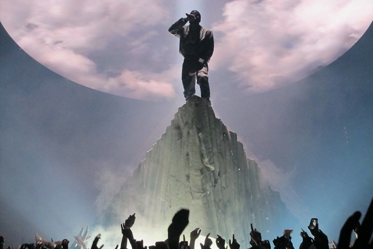 An Overview Of Kanye West S Tour Stage Designs Yeezus Tour Kanye West Yeezus Kanye West Tour