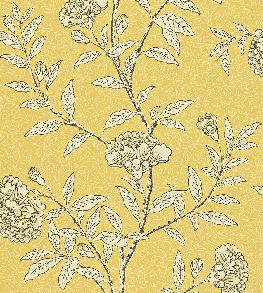 Chinese Peony Wallpaper by Sanderson in 2020 Peony