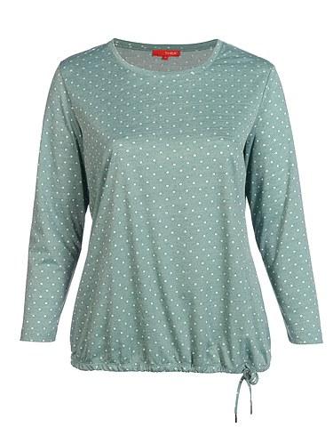 Thea Jacquard Jersey Shirt Mit Punkten Allover In 2020 Mode Trends Und Damen