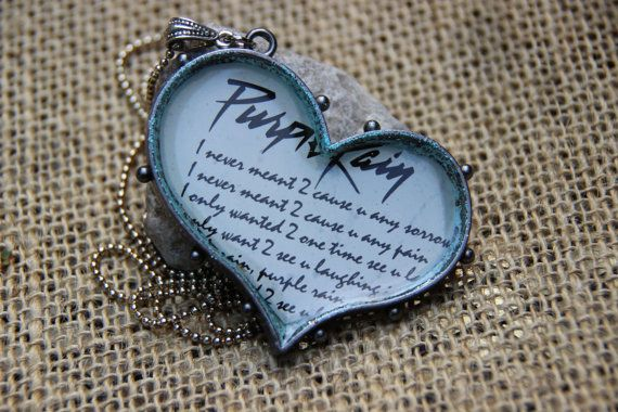 I Never Meant To Cause You Any Sorrow necklace by purpleartlove, $25.00