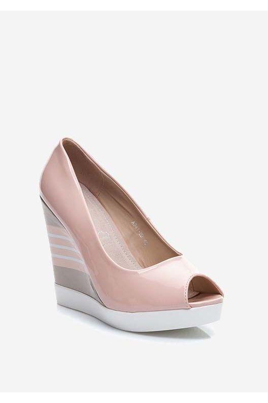 Buty Damskie Modne I Stylowe Letnie I Zimowe Obuwie Shoes Wedges Fashion
