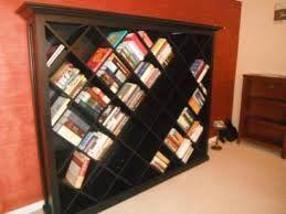 Criss Cross Bookshelf