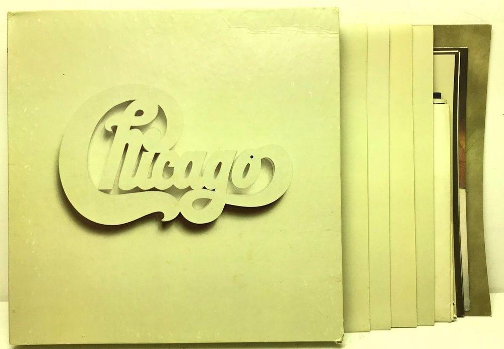 Chicago At Carnegie Hall 4lp Box Set Booklet 3 Posters Lp Vinyl Record Album Vinyl Record Album Vinyl Records Boxset
