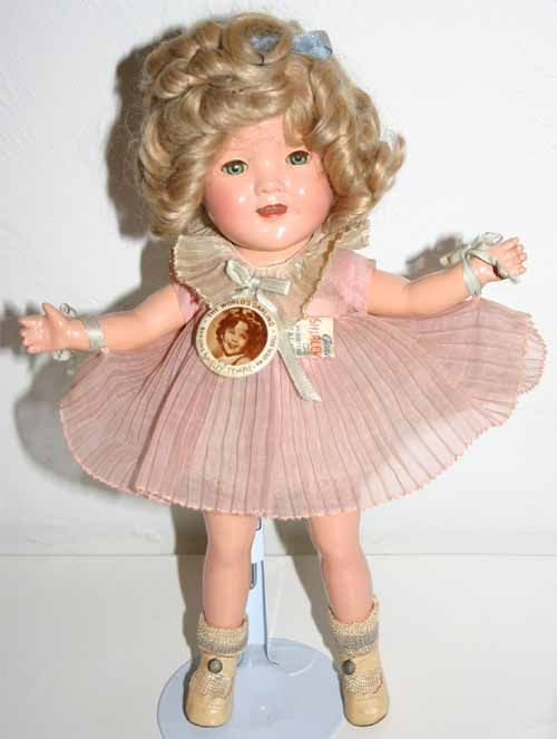 Composition Shirley Temple Doll 1938 Dolls Vintage