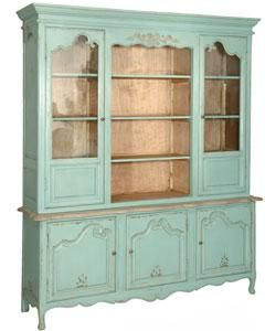 The Etienne Large Glazed Display Cabinet Is Truly Remarkable. The Cabinet  Features 2 Large Glazed Display Cupboards With One Centre Open Display And  A Base ...