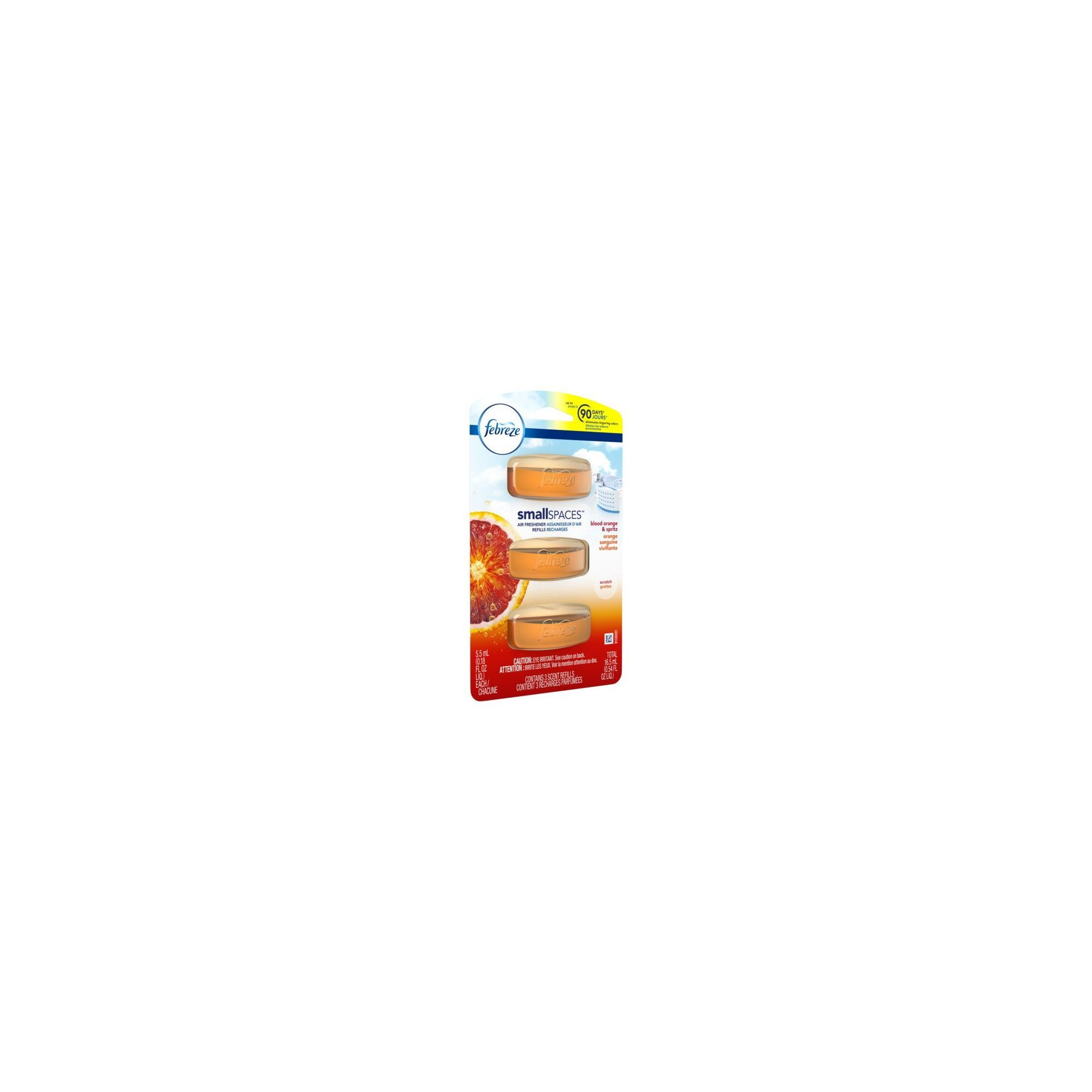Febreze Small Spaces Blood Orange & Spritz Triple Refill Air ...