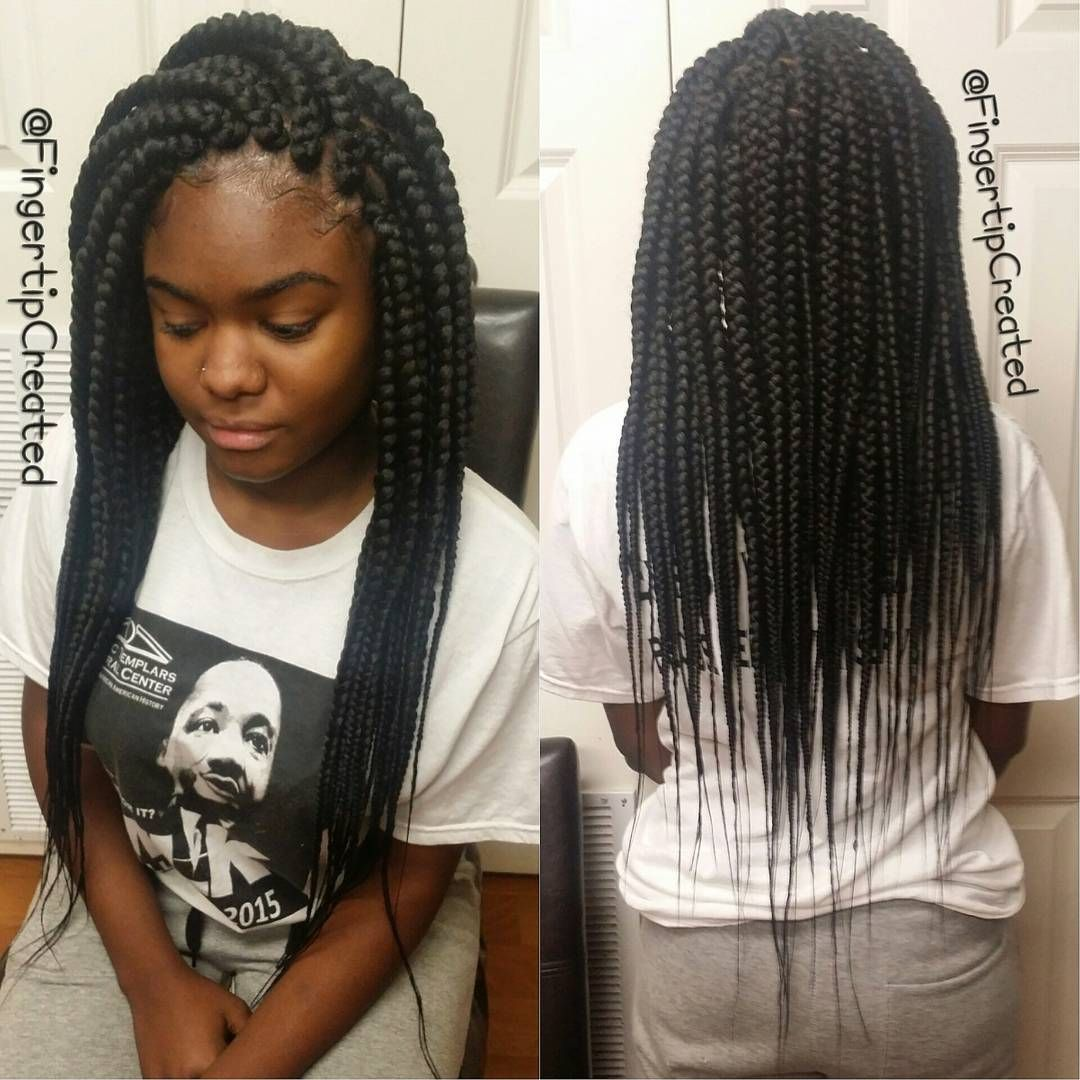 Jumbo Box Braids by fingertipcreated | braids | Pinterest | Afro Tresses afro et Coiffure locks
