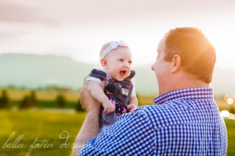 3 month old photo idea, Baby girl smiles at her daddy ...