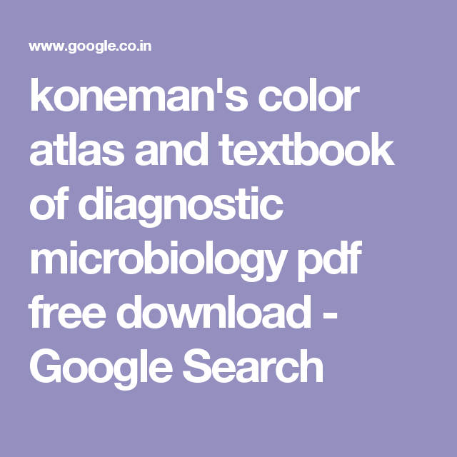 Konemans color atlas and textbook of diagnostic microbiology pdf konemans color atlas and textbook of diagnostic microbiology pdf free download google search fandeluxe Image collections